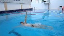 Uintitekniikkaa: selkäuinti