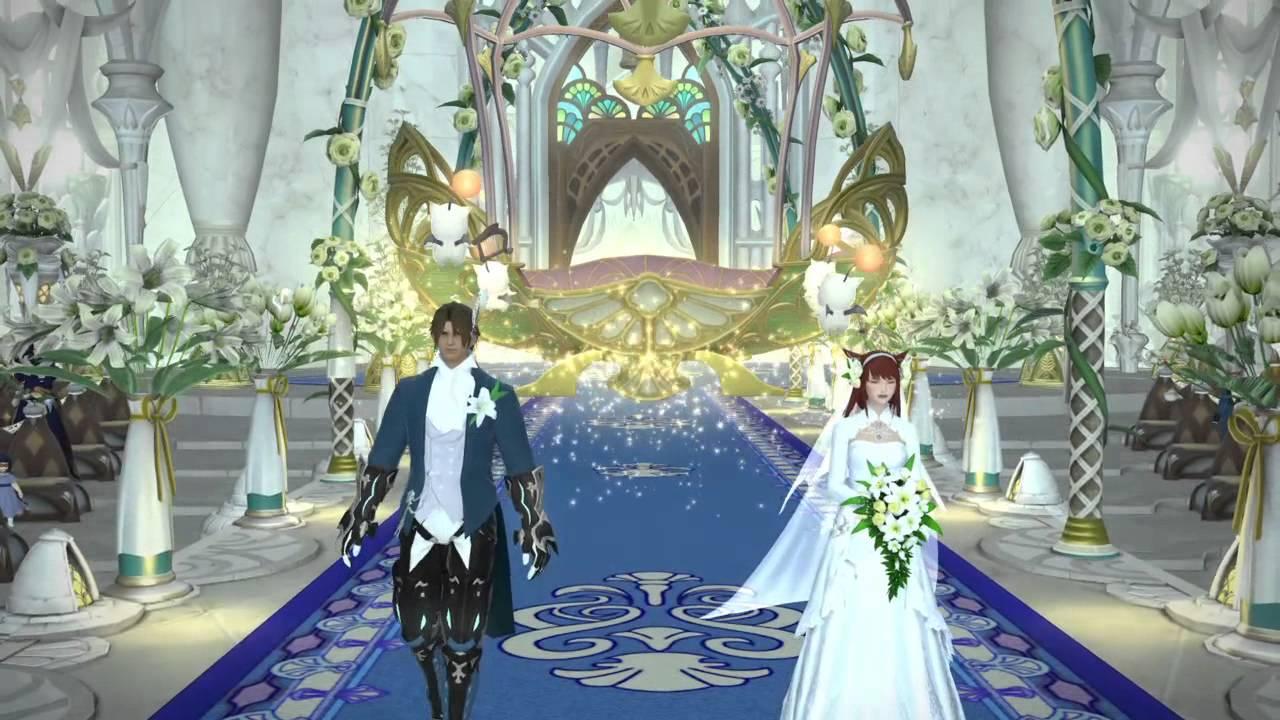 final fantasy xiv merry & kei's wedding part 1