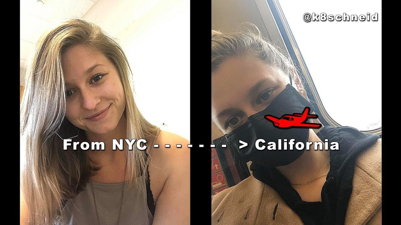 《美國紐約女歌手的近況》From NYC to CALI