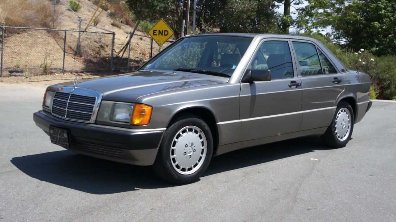 Mercedes benz 190e 1992 108k 3 owner w201 youtube for Mercedes benz 1992