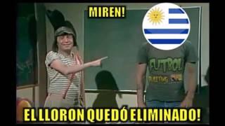 MEMES eliminación de Uruguay al perder 0-1 Venezuela