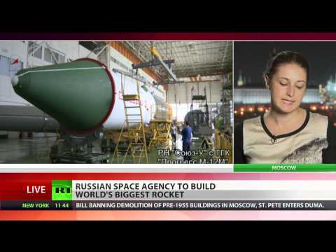 Russia to build world's biggest rocket