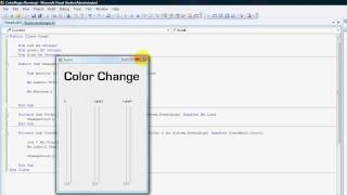 VB.NET: How to work with RGB Color scheme.