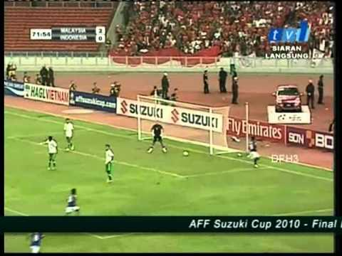 Malaysia vs Indonesia (AFF Suzuki Cup 2010 - Final Leg 1)