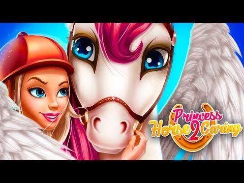 Принцесса ЛОШАДЕЙ #14 Симулятор Маленькой лошадки в детской игре Princess Horse Caring 2 - пурумчата