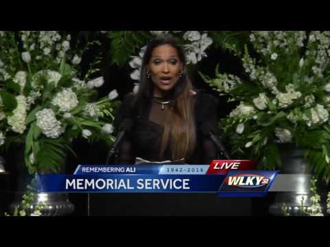 Muhammad Ali memorial: Rasheda Ali-Walsh