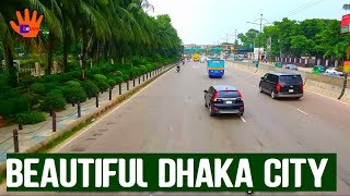Beautiful Dhaka Airport Road | Beautiful View of Dhaka City Road || Different Touch