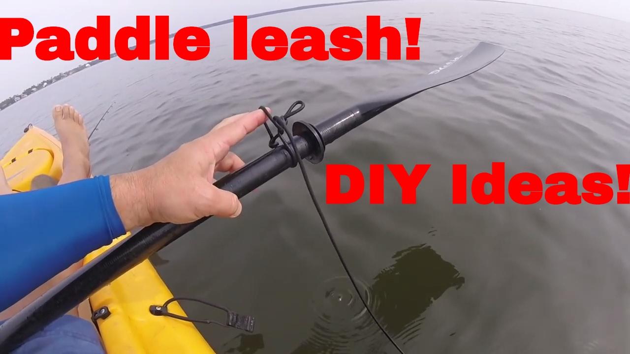 Cinch-Lock Kayak Paddle Safety Rod Leash Fishing Rod Lanyard for Sit on Top