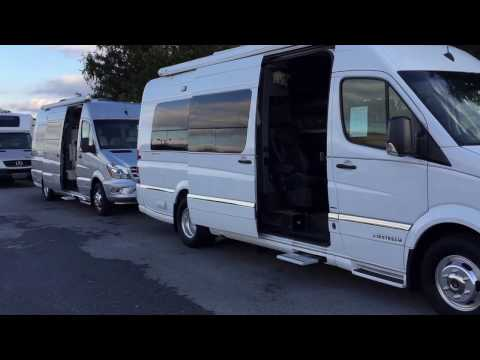 """2013 & 2014 Airstream Interstate Class B Motor Homes {pre-enjoyed}   -  w/Paul """"The Air Force Guy"""""""