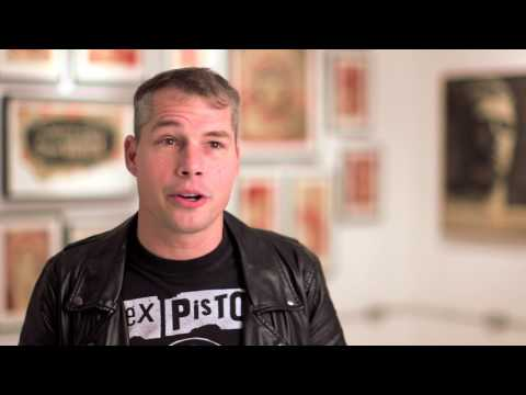 Shepard Fairey Interview from Sedition Art