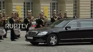 LIVE: Putin and Macron meet in Versailles: arrivals