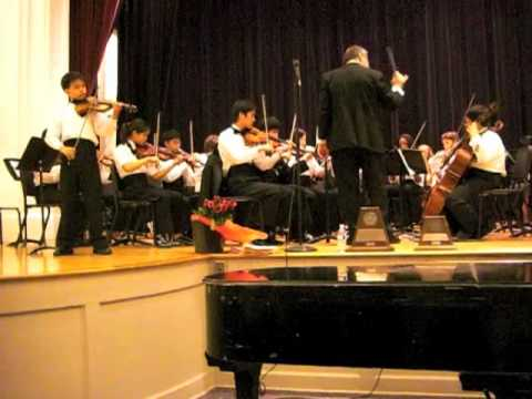 AMAZING 13-year-old Kenny Wong plays Carmen Fantasy with orchestra
