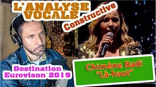 REACTION DE COACH // ANALYSE VOCALE // CHIMENE BADI - Là-haut