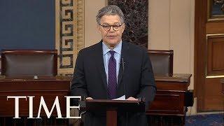 Senator Al Franken Quits Amid Sexual Misconduct Allegations | TIME