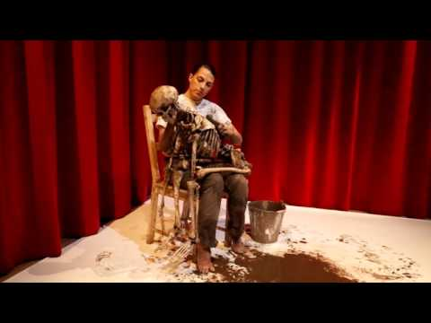 Performance directed by Marina Abramović – The Cleaner