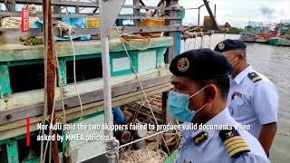 Kelantan MMEA nabs nine foreign fishermen in Tok Bali