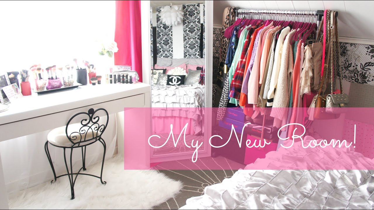 5 inexpensive ways to redecorate your room Updated Room Tour  Belinda Selene  YouTube