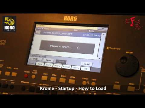 KORG PA 600 - An Introduction And How To Load The Indian Library