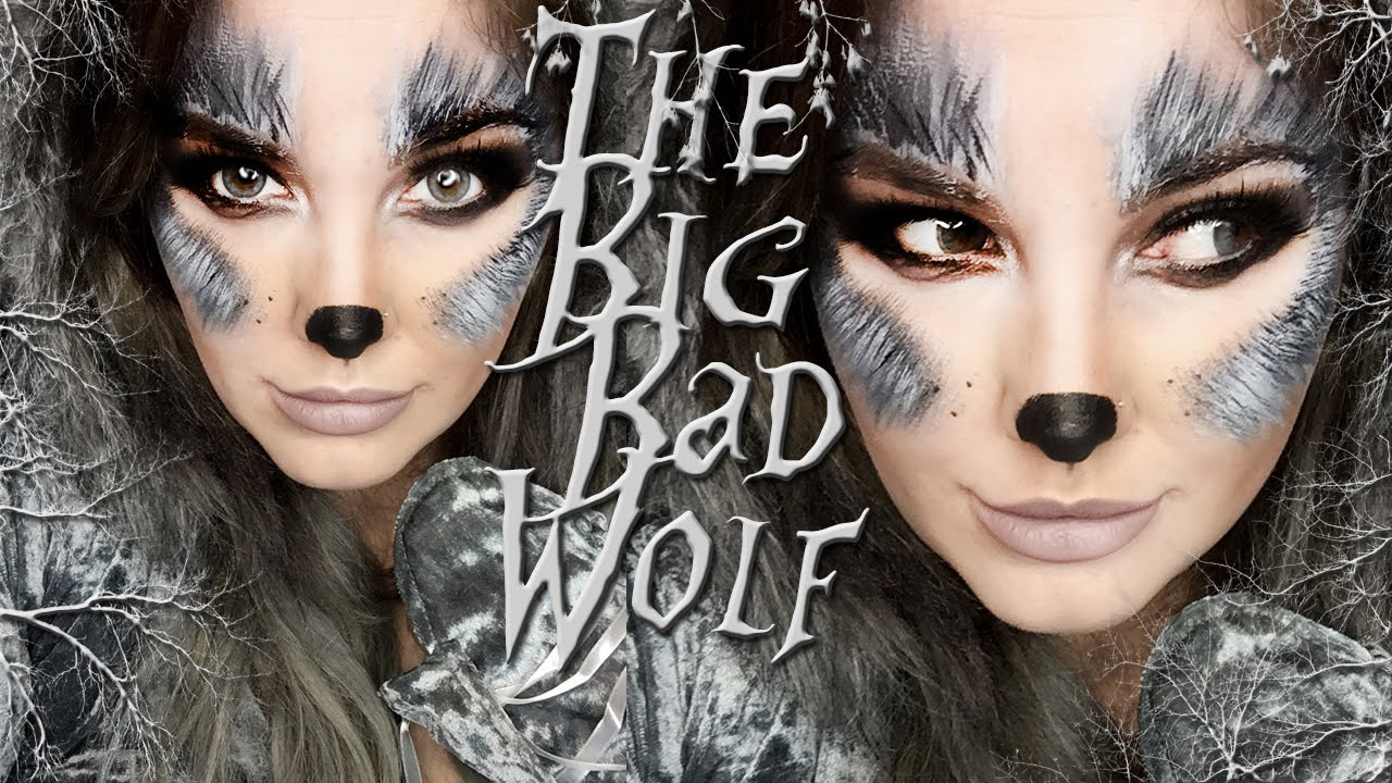 The BIG BAD Wolf Makeup Tutorial! - YouTube
