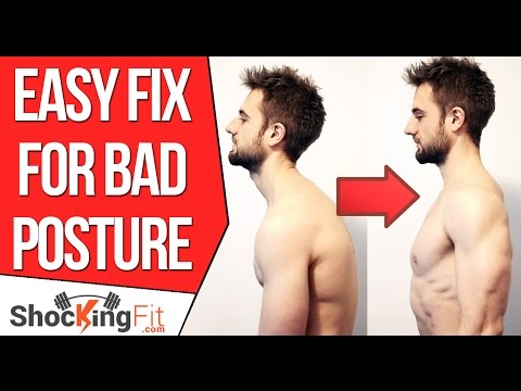 How to Fix Bad Posture – Simple Exercise To Prevent Rounded Shoulders