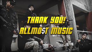 Download THANK YOU! ALLMO$T MUSIC, PESO MERCADO SIGNING OFF