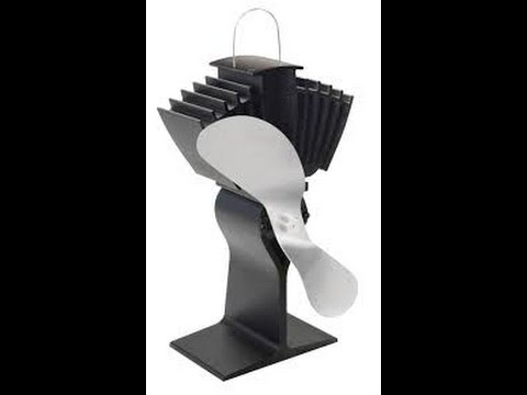 Free Heat Energy Fan for Wood Burning Stove