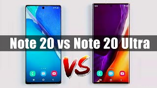 Galaxy Note 20 Ultra vs Galaxy Note 20 - Which One Is Right For You?