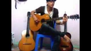 muốn nói lời yêu em guitar conver
