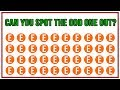 7 Odd One Out Puzzles That Trick Your Eyes