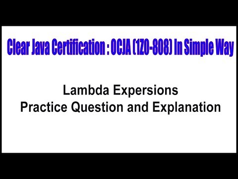 java-certification-||-lambda-expression-practice-question-and-explanation-||-by-durga-sir