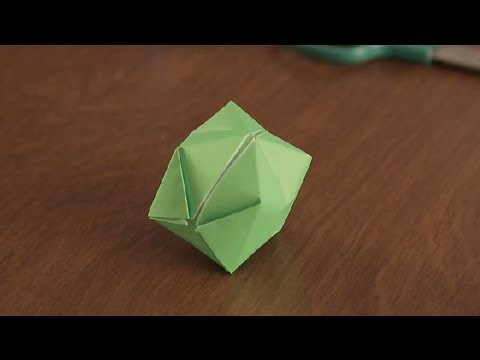 How To Make An Origami Balloon Simple Fun Origami Youtube