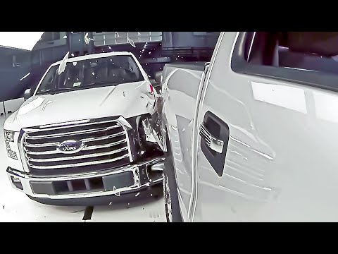 2015 Ford F-150 vs. 2014 F-150 – Crash test to compare repair costs
