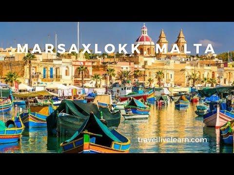 Travel to Marsaxlokk Bay fishing village Malta
