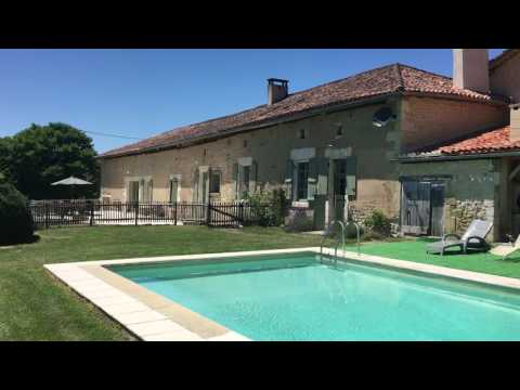 French farmhouse for holiday rental - Montboyer, SW France
