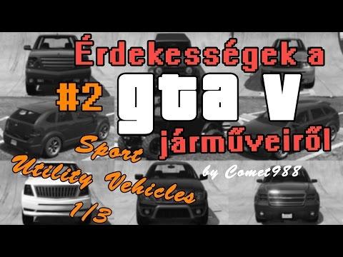 Érdekességek a GTA V járműveiről #2  - SUVs 1/3