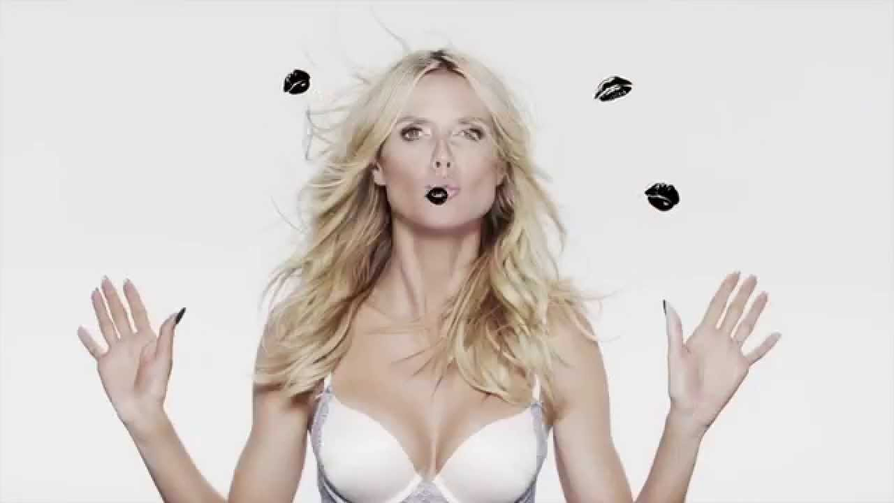 b823f088e17d Heidi Klum models new intimate collection - Heidi by HEIDI KLUM - YouTube