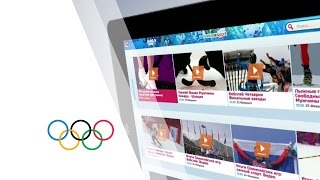 Panorama - Russia Sport mobile application - 2014 Olympic Golden Rings Awards