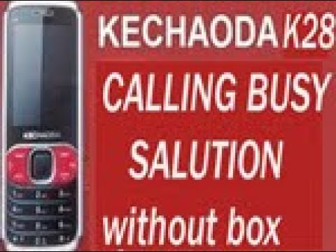 KECHAODA K28 CALLING BUSY SALUTION