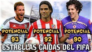 LAS ESTRELLAS CAIDAS DEL FIFA ... Aun Te Acuerdas de Ellos? (Falcao, Gotze...) - FIFA 14 RETRO