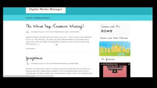 Customizing Your Wordpress Navigation Menu & Displaying Blog Posts to a Specific Page