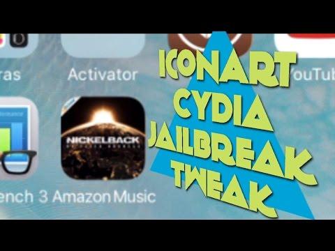 IconArt - Album Cover auf dem Musik App Icon sehen bei Spotify, Apple Music, Amazon Music usw.