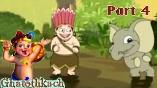 Ghatothkach | Tamil Animated Movie Part 4 | The Son Of Bheema Song