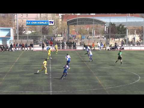JORNADA 25  C FCAN VIDALET vs A E MOJA 2 T
