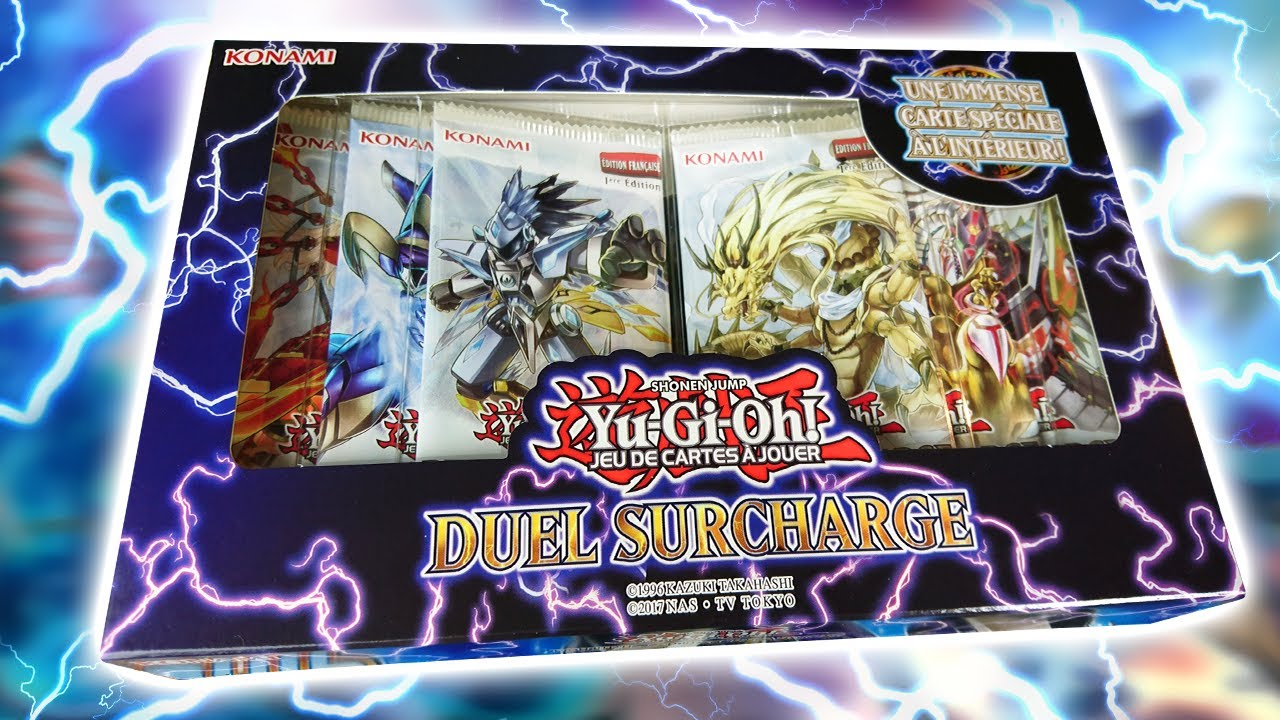 Coffret DUEL SURCHAGE DUOV//VF ! Yu-Gi-Oh DUEL OVERLOAD