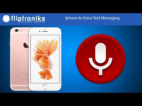 voice text iphone iphone 6s text messaging using your voice fliptroniks 13254