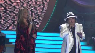 Albano and Romina Power in Moscow