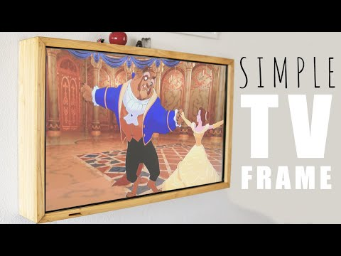 Making a TV Picture Frame