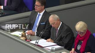 Germany: 'Practical test' rather than 'national crisis' - Bundestag president on coalition collapse