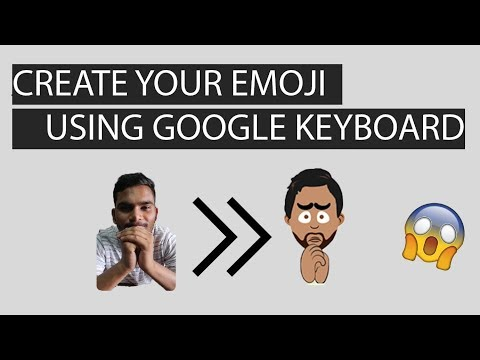 How To Make Your Emoji Using Google Board 🔥 | GOOGLE MINI's | Android & IOS | HD |
