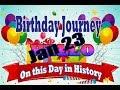 Birthday Journey January 23 New